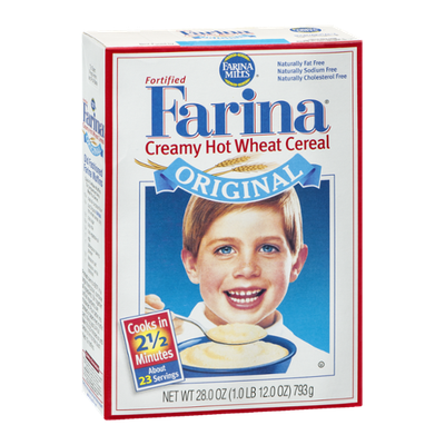 Farina Fortified Creamy Hot Wheat Cereal Original