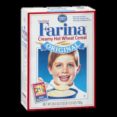 Farina Fortified Creamy Hot Wheat Cereal Original