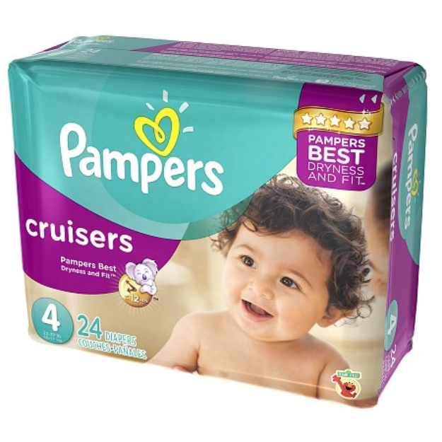 Pampers Cruisers Diapers Size 4 Jumbo Pack