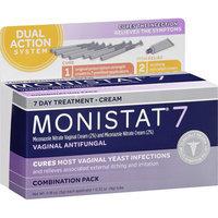 Monistat 7 Vaginal Antifungal 7 Day Treatment Cream Combination Pack