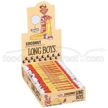 Atkinson Long Boys Coconut Candy - 48 per pack -- 16 packs per case.