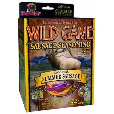 Hi Country Snack Foods Hi-Country Snack Foods Domestic Meat and WILD GAME 21.26 oz. Summer Sausage Home Made Sandwich and Snack Style Sausage Spice Kits