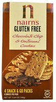 Nairns Nairn's Gluten Free Oatmeal Cookies Chocolate Chip 5.64 oz