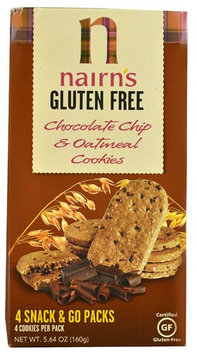 Nairns Nairn's Gluten Free Oatmeal Cookies Chocolate Chip 5.64 oz