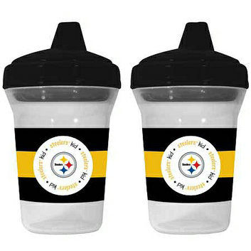 Baby Fanatic NFL Pittsburgh Steelers 2-Pack Sippy Cup