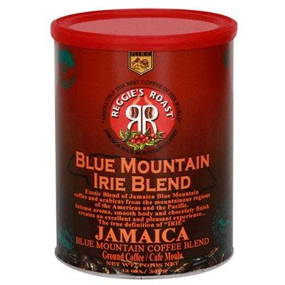 Reggies Roast Reggie's Roast Jamaica Blue Mountain Irie Blend Ground Coffee, 12-Ounce Cans (Pack of 3)