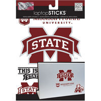 Bulk Buys GM920 Mississippi State University Removable Laptop Stickers Case of 144