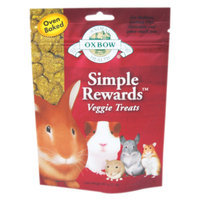 Oxbow Pet Products Oxbow Simple Rewards Treats - Veggie - 2 oz.