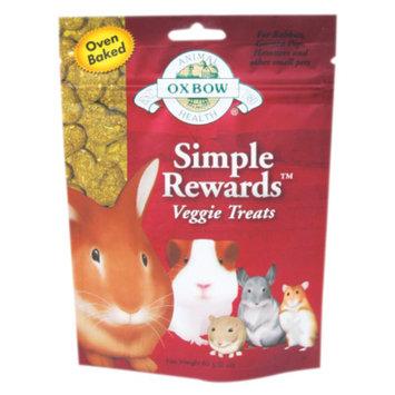 Oxbow Pet Products Oxbow Simple Rewards Treats - Veggie - 2 oz.