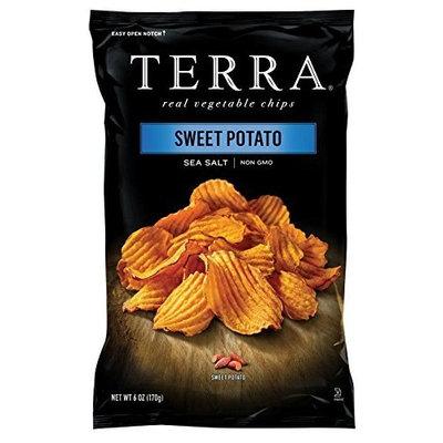 TERRA® Sweet Potato Chips Crinkled Sweet Potato With Sea Salt