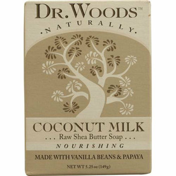 Dr. Woods Bar Soap Coconut Milk 5.25 oz