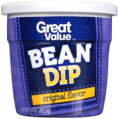 Great Value Original Flavor Bean Dip, 10 oz