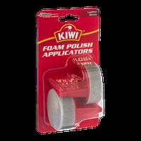 Kiwi Foam Polish Applicators Leather Shoes - 2 CT