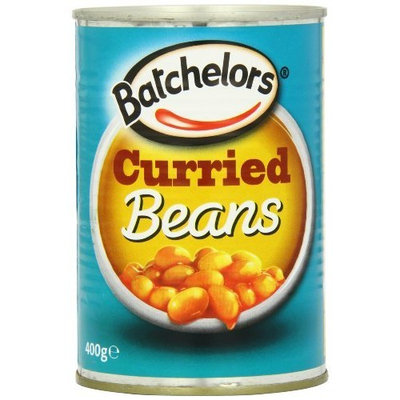 Batchelors Baked Beans, Curried, 14.12-Ounce (Pack of 6)