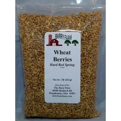 Barry Farm Hard Red Wheat Berries, 1 lb.