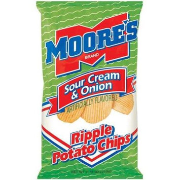 Moore's: Ripple Sour Cream & Onion Potato Chips, 7.75 Oz