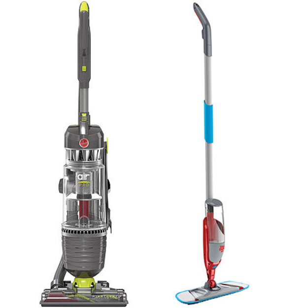 Hoover WindTunnel Air Max Steerable Bagless Upright Vacuum with Your Choice of Bonus Stick/Handheld Vac