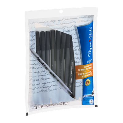 Paper Mate Eagle Ball-Point Pens - 12 CT