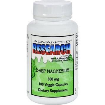 Advanced Research - 2-AEP Magnesium 500 mg. - 100 Vegetarian Capsules