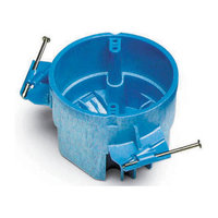 Lamson & Sessions Carlon Lamson and Sessons BH525A-UPC 25 Cubic Inch SuperBlue Hard Shell Ceiling Box