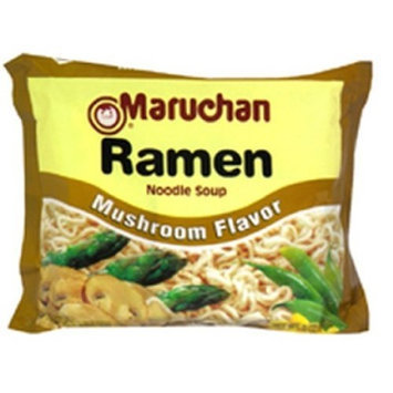 Maruchan Ramen, Mushroom, 3-Ounce Packages (Pack of 24)