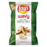 Lay's Do Us A Flavor Finalist Wavy West Coast Truffle Fries, 7.75 oz Bag