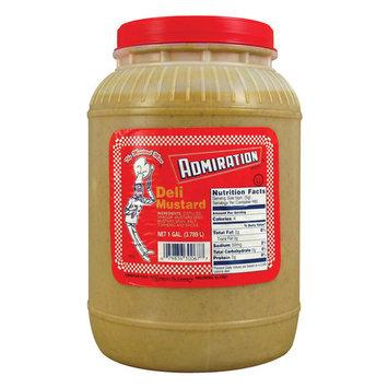 Admiration Deli Mustard 1 Gallon Containers 4 / Case