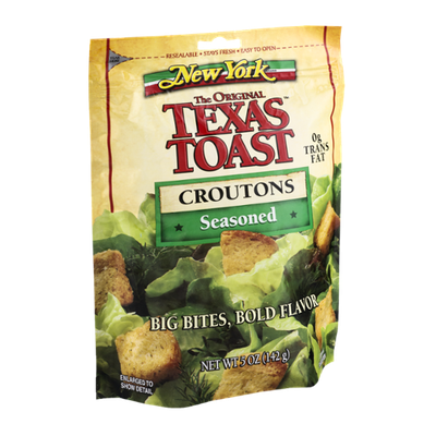 New York The Original Texas Toast Croutons Seasoned