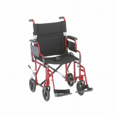 Nova Transport Chair Lightweight with Detachable Footrests