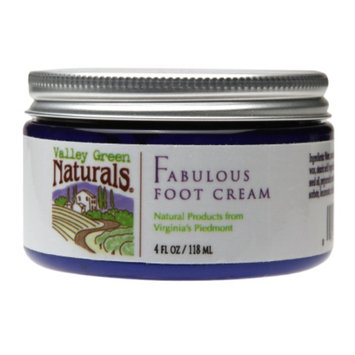 Valley Green Naturals Fabulous Foot Cream, 4 fl oz
