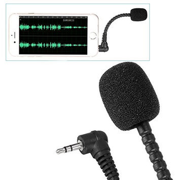 Neewer (2)3.5mm Flexible Mini Microphone