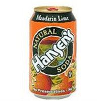 HANSEN'S Mandarin Lime Can 12 OZ
