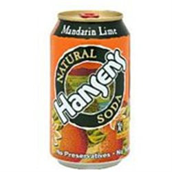 HANSEN'S Mandarin Lime Can 12 OZ
