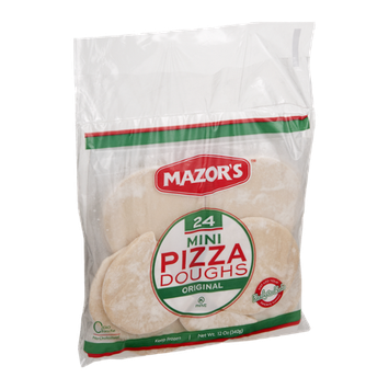 Mazor's Mini Pizza Doughs Original - 24 CT