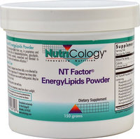 Nutricology/allergy Research NutriCology NT Factor EnergyLipids Powder 150 grams