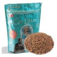 One Earth 64064 4x7 Lb Clumping Cat Litter
