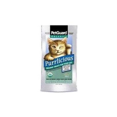 Pet Guard 64093 Organic Purrlicious Cat Treat