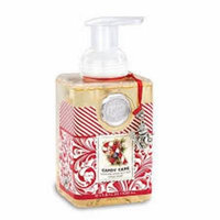 Michel Design Works Candy Cane Foaming Soap, 17.8-Ounce