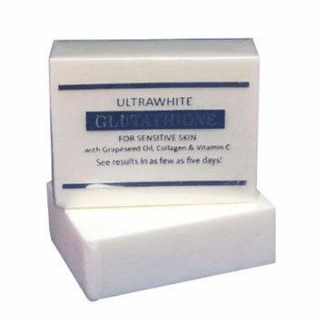 Premium Ultrawhite Glutathione Whitening Soap for Sensitive Skin, w/ Glutathione, Grapeseed Oil, Collagen, Vitamin C