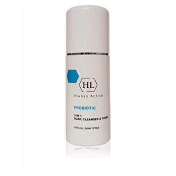 Holy Land Cosmetics Probiotic 3 in 1 Soap, Cleanser & Toner 150ml