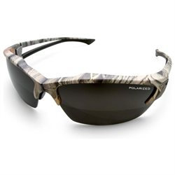 Wolf Peak International Edge TSDK21CK Wolf Peak Khor Polarized Safety Glasses, Camo/Smoke 3 Lens Set