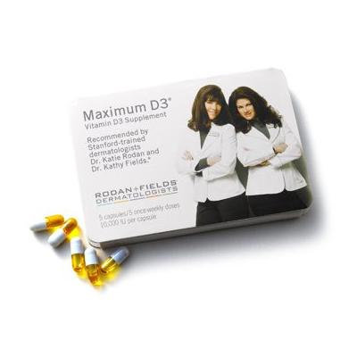Rodan + Fields Essentials, Maximum D3 Vitamin D3 - 10,000 IU - 5 weekly capsules