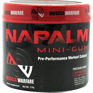 Muscle Warfare Napalm Mini Gun Fruit Punch 30/SERV