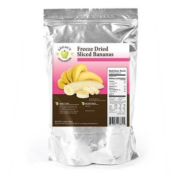 Legacy Premium Food Storage Freeze Dried Banana Chips - Legacy Dehydrated Emergency Food Supply