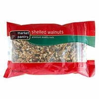 Market Pantry Shelled Walnuts - 16 oz.