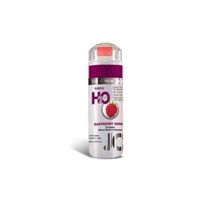 System jo h2o flavored lube - 5.25 oz raspberry sorbet