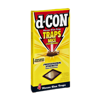 d-Con Mouse Glue Trap - 4 CT
