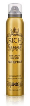 RICH Pure Luxury Sure Hold Hairspray 6.75 oz.