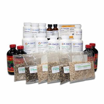 Dr Clark Kidney Cleanse, 8 Week Program Kit, 17 items