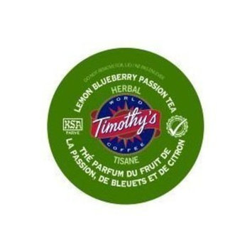 Timothy's World Coffee Lemon Blueberry Passion Tea K-Cups (24 count)